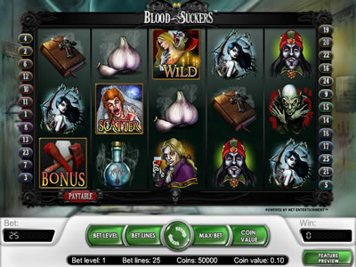 Bloodsuckers netent slot